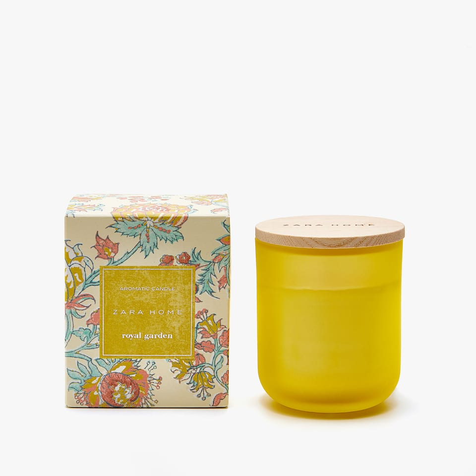 ROYAL GARDEN AROMATIC CANDLE