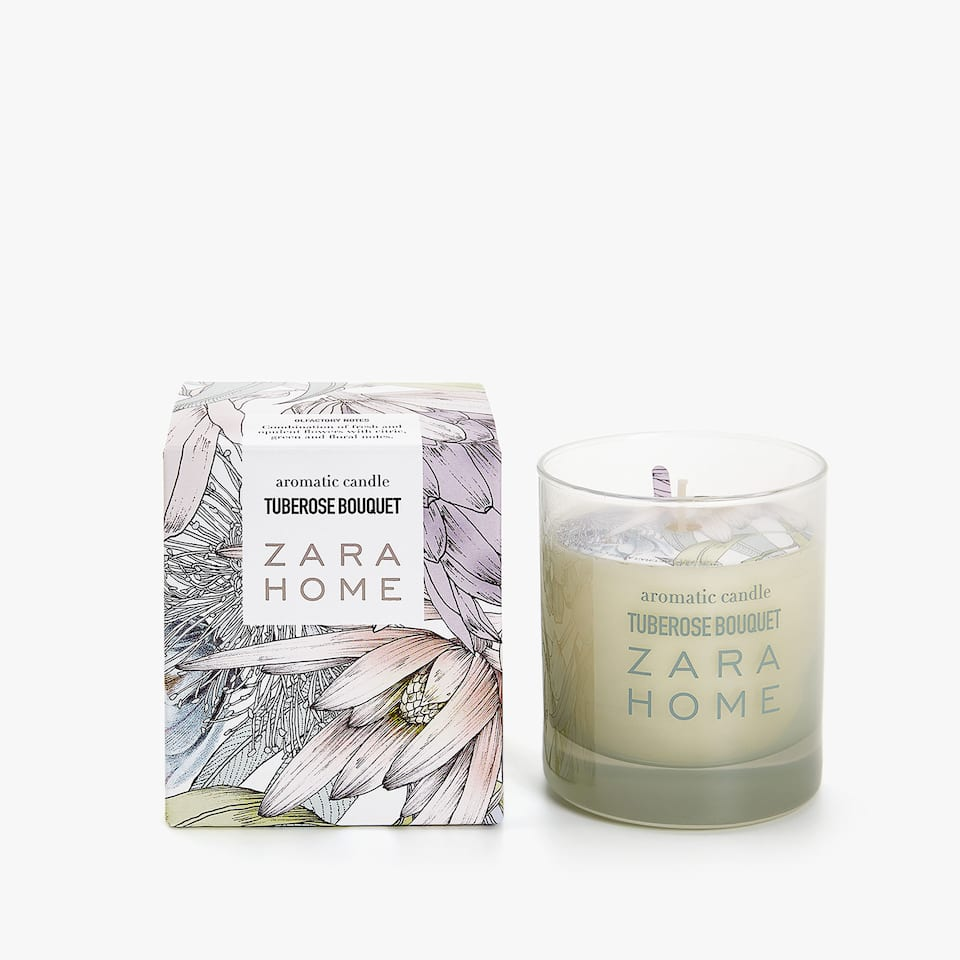 TUBEROSE BOUQUET SCENTED CANDLE