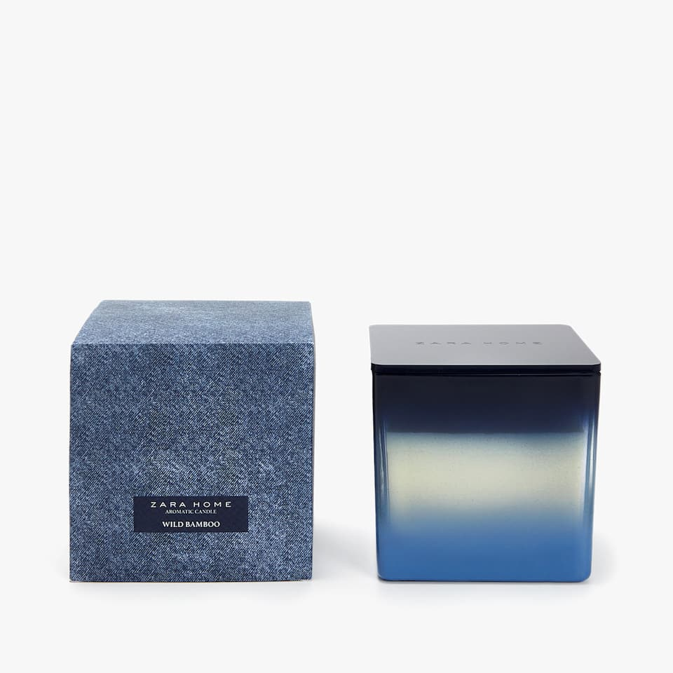 WILD BAMBOO SQUARE CANDLE