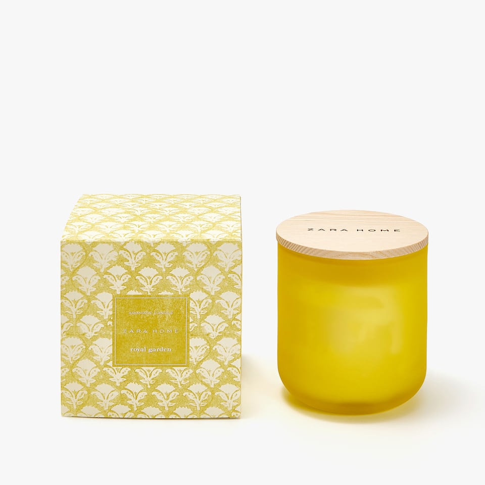 ROYAL GARDEN CYLINDER CANDLE