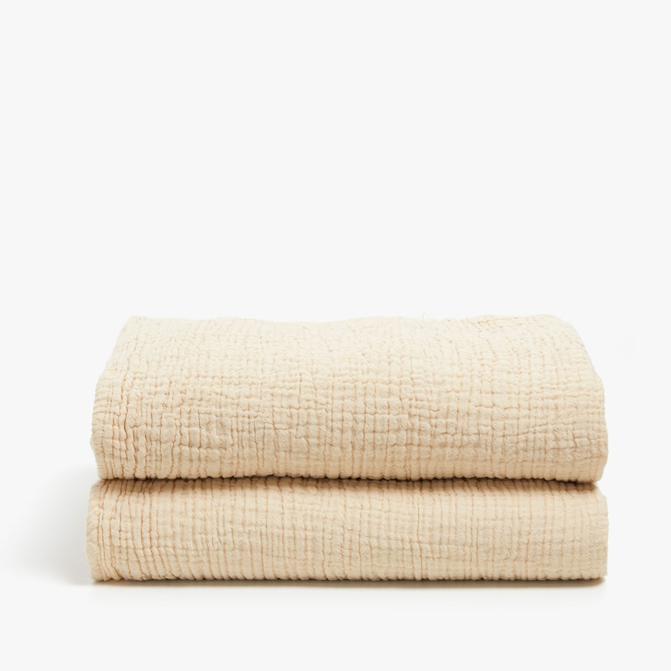 DOUBLE-SIDED COTTON BLANKET