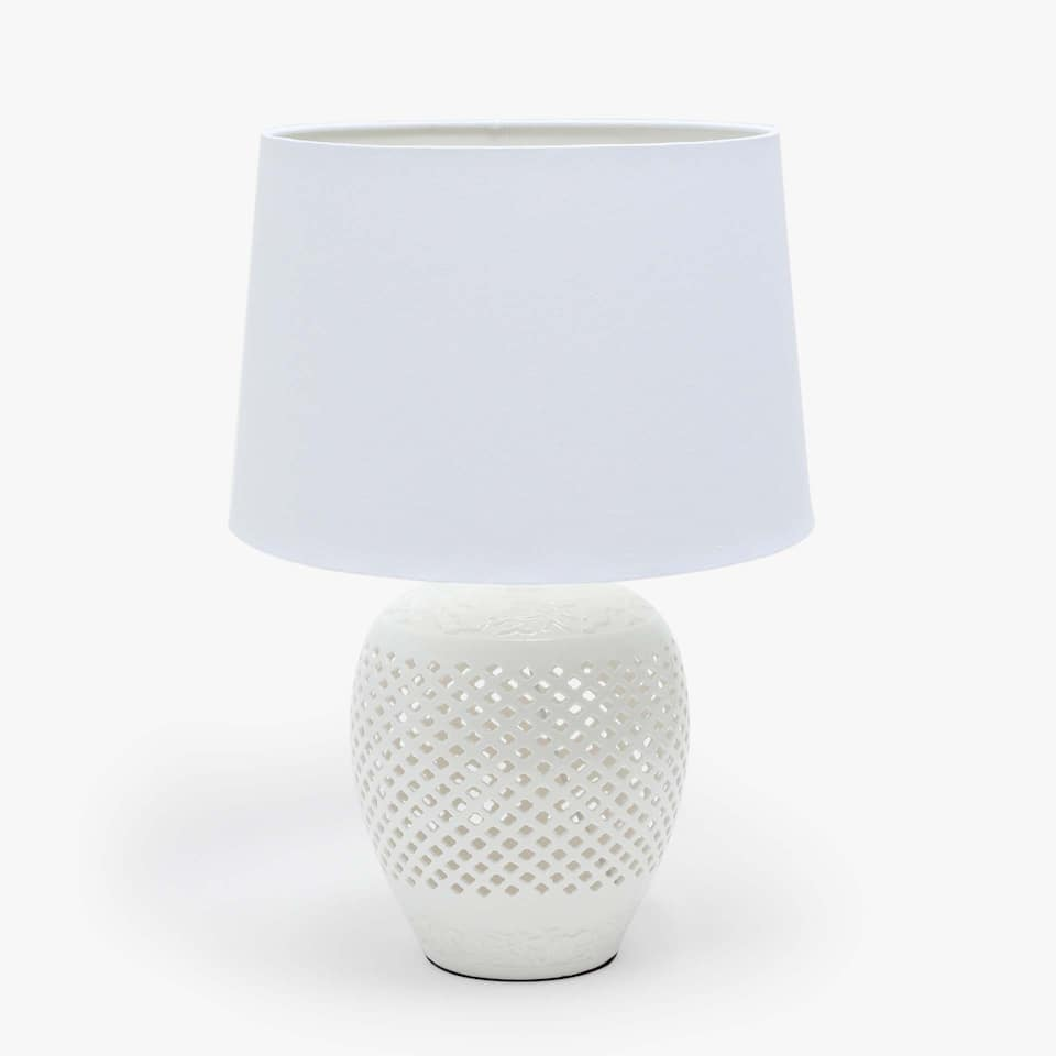 PERFORATED VASE LAMP