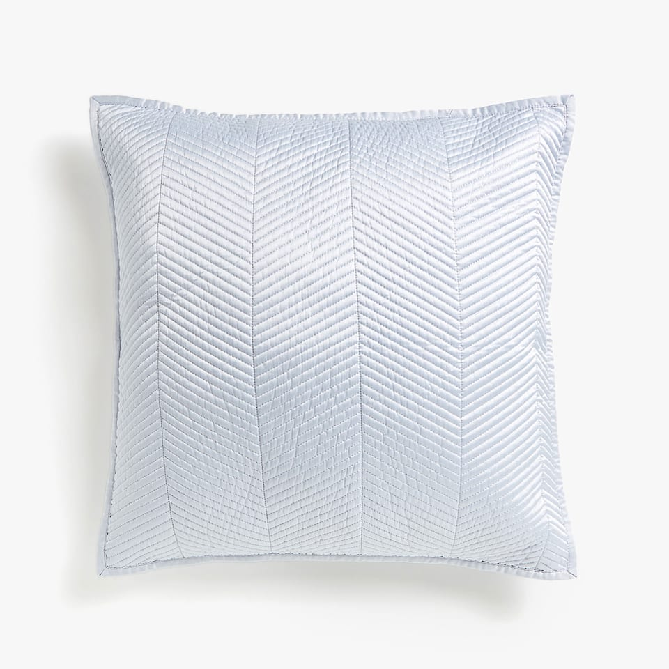 HERRINGBONE DESIGN CUSHION COVER