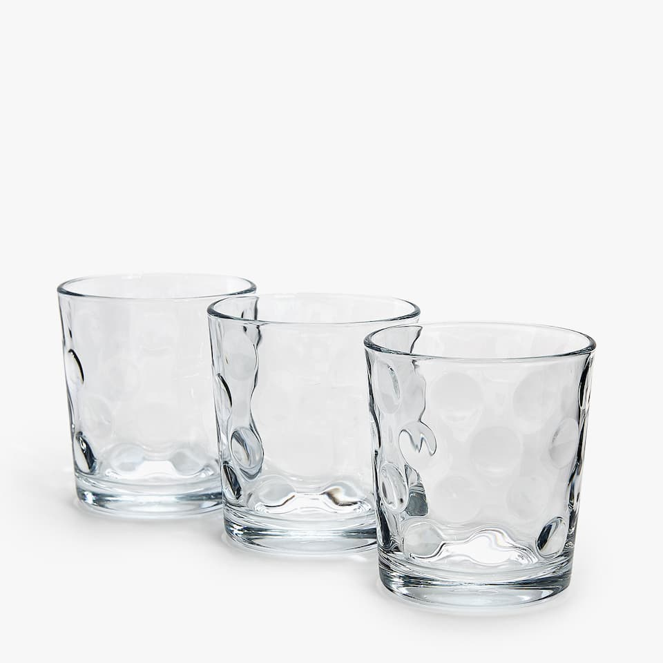 Verre Cercles (Lot de 3)