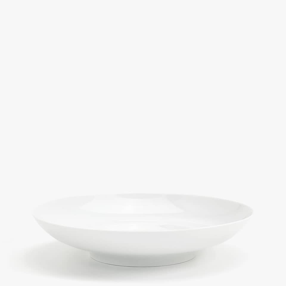 PLAIN PORCELAIN SOUP DISH
