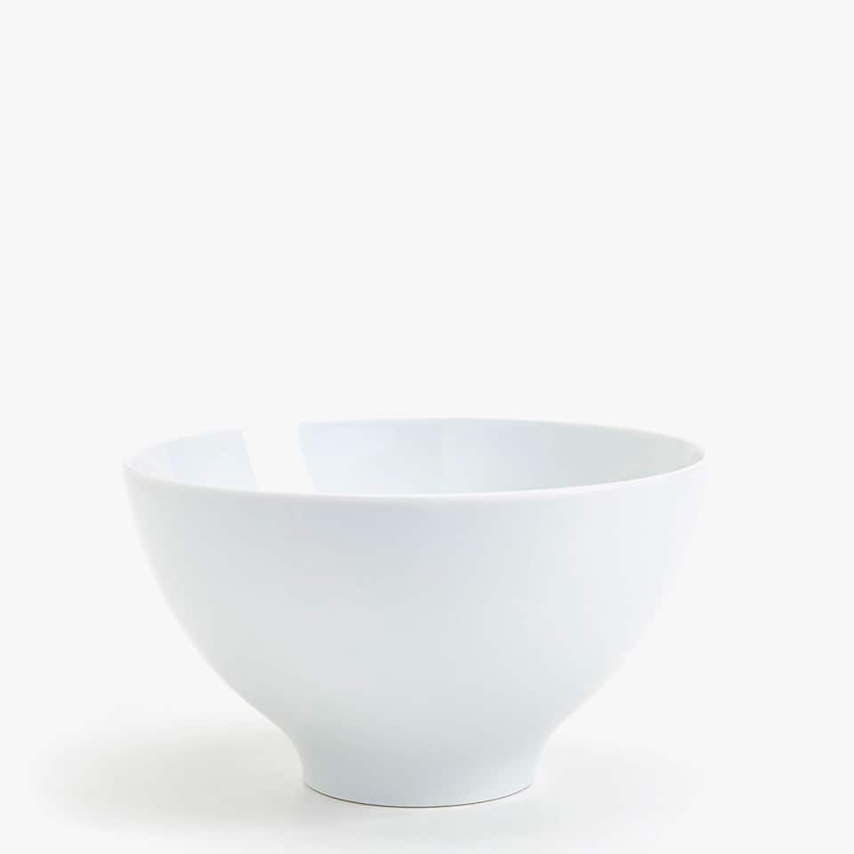 PLAIN PORCELAIN SALAD BOWL