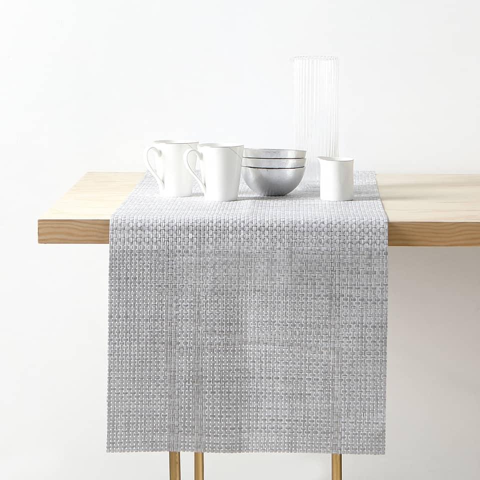 編み込みプラスチック テーブルランナー