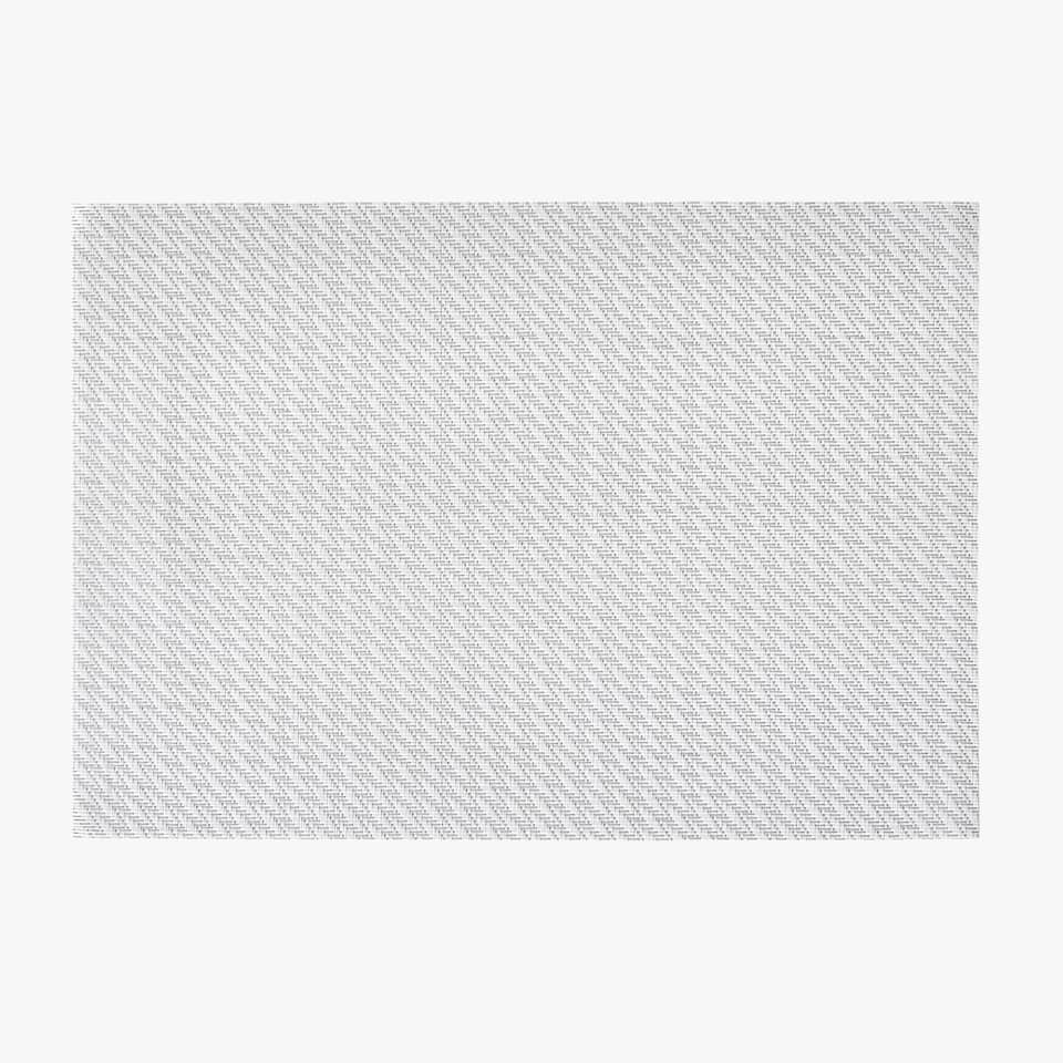 PLASTIC SHINY PLACEMAT (SET OF 2)