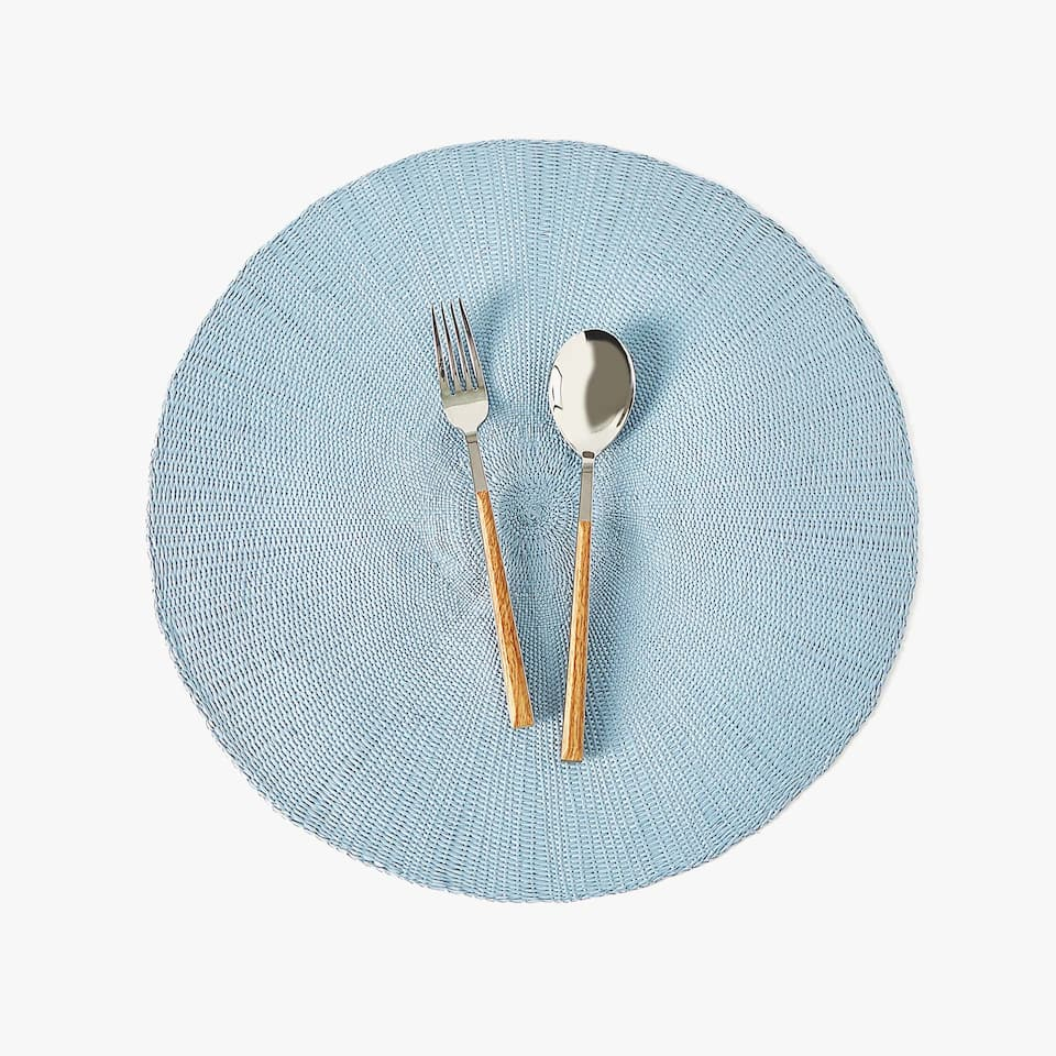 ROUND PAPER PLACEMAT (SET OF 2)