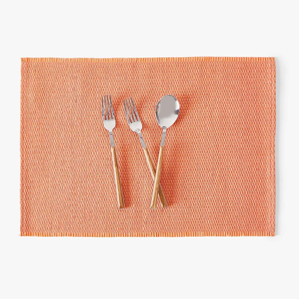 CROSSWEAVE PAPER PLACEMAT (SET OF 2)