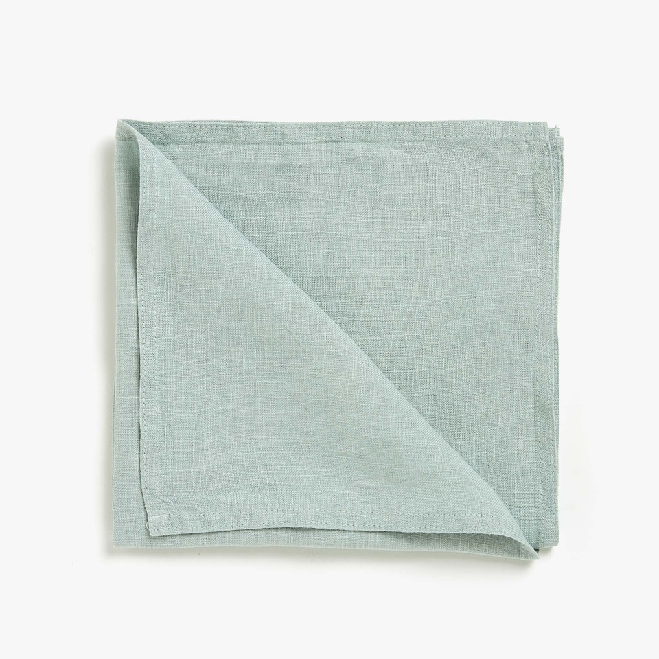 FADED LINEN NAPKINS (SET OF 4)
