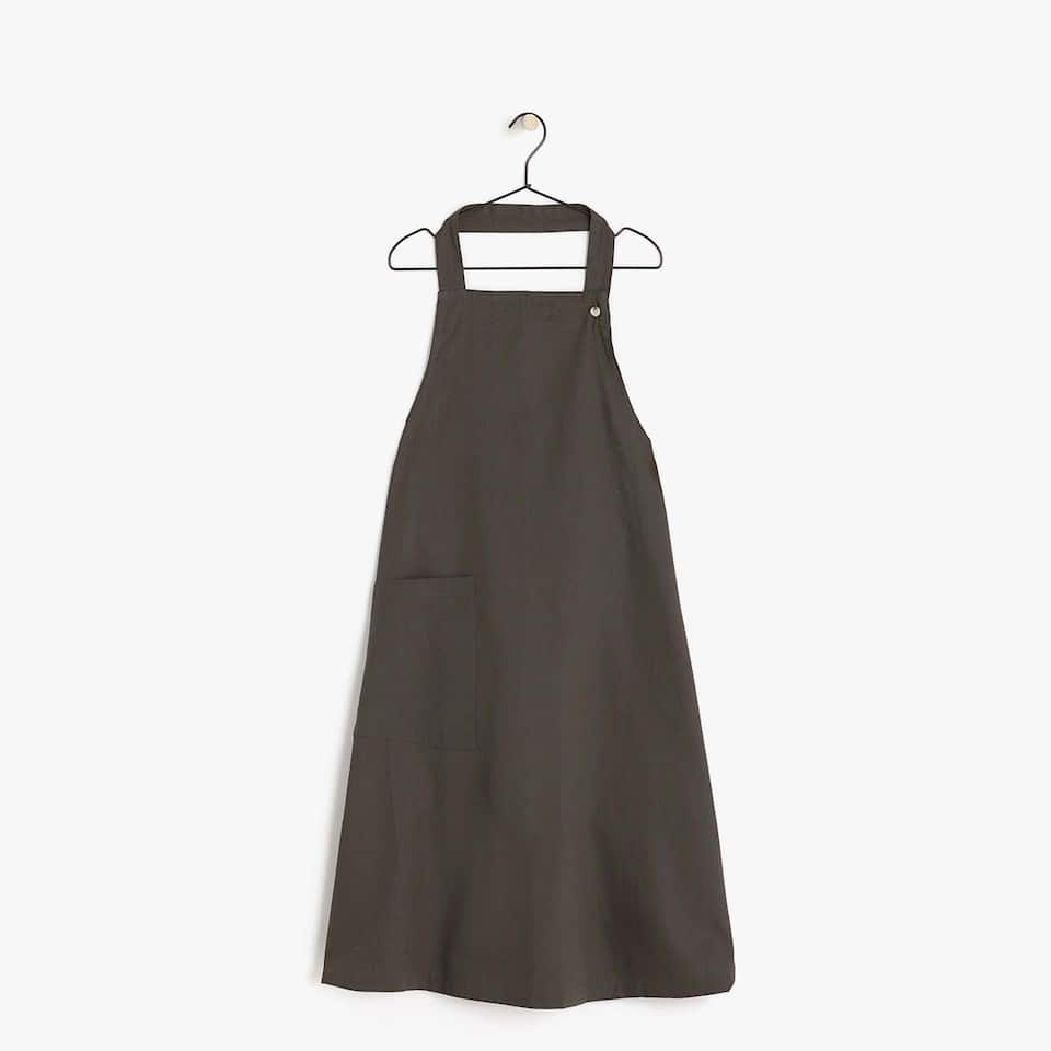 PLAIN COTTON APRON