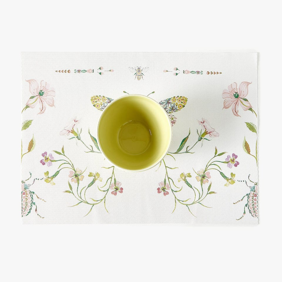 PRINTED PLASTIC PLACEMATS (SET OF 2)