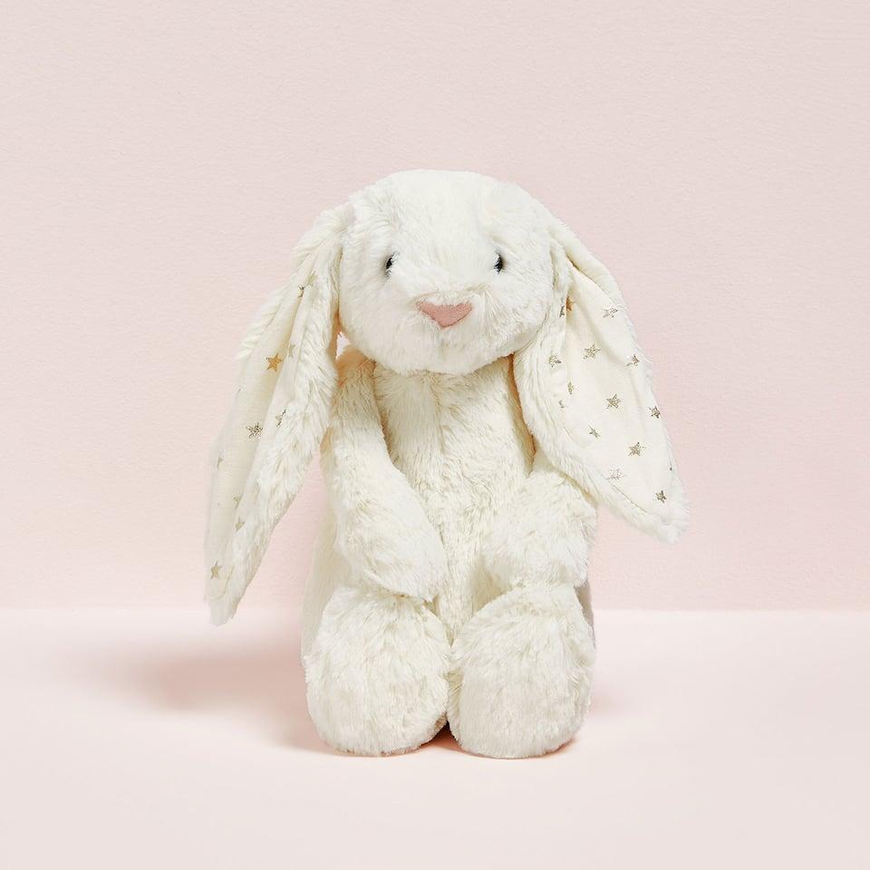 白いウサギのぬいぐるみ