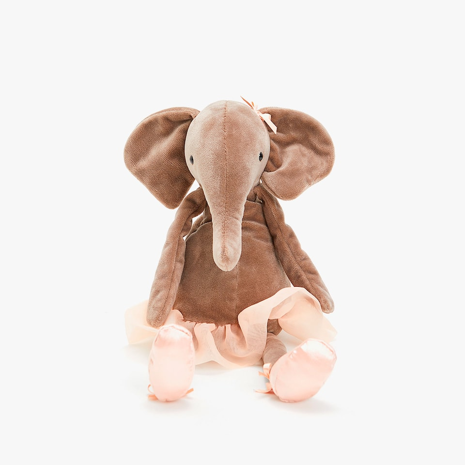 BALLERINA ELEPHANT SOFT TOY