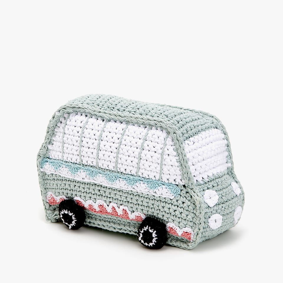 CROCHET VAN PLUSH TOY
