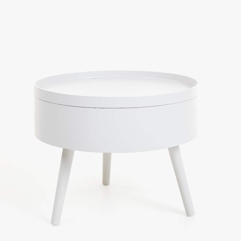 TABLE D'APPOINT PLATEAU ROND
