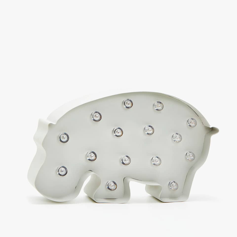 HIPPO-SHAPED LAMP