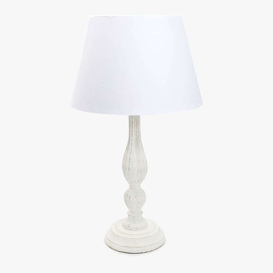 FADED-EFFECT LAMP WITH CONE SHADE