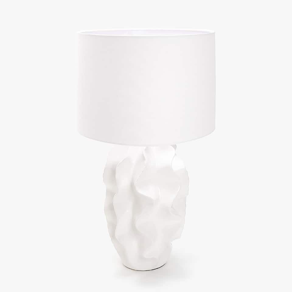 SEA MOTIF SHAPED CERAMIC LAMP