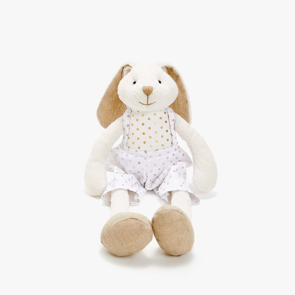 RABBIT SOFT TOY WITH LONG LEGS