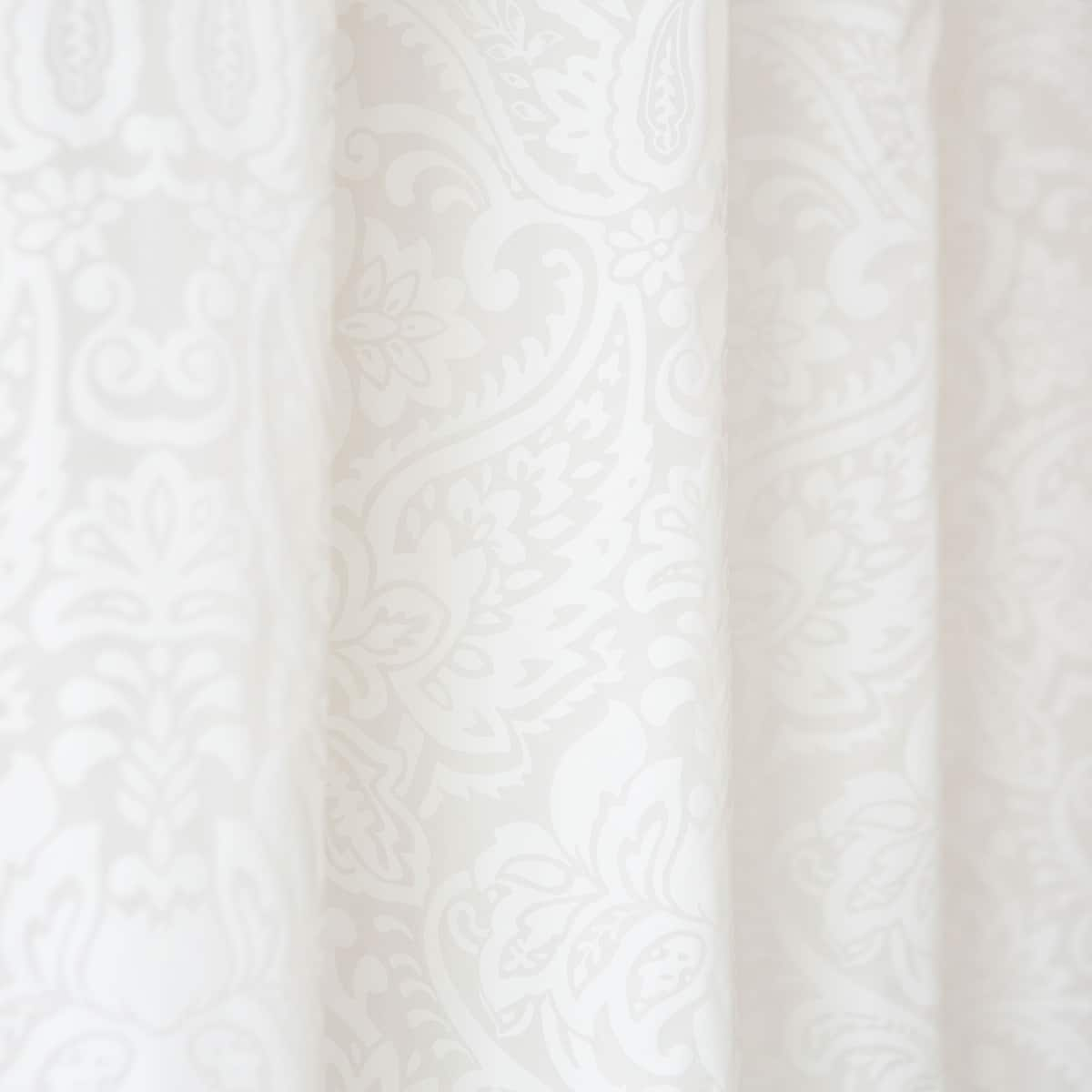 Image 2 Of The Product Damask Shower Curtain