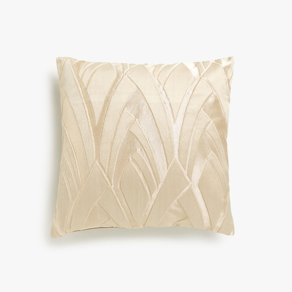Decorative jacquard cushion cover