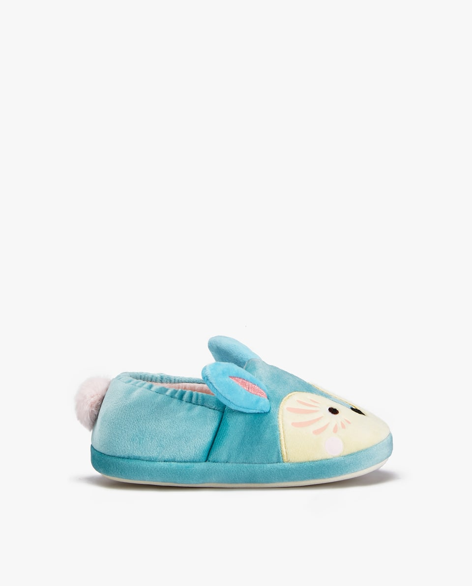 COLOURFUL LITTLE ANIMAL SLIPPERS