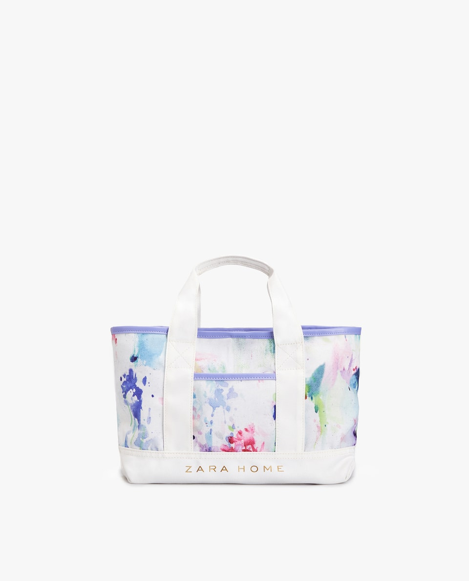 JAPAN EXCLUSIVE COLLECTION 日本限定 WATERCOLOUR PRINT MINI TOTE BAG