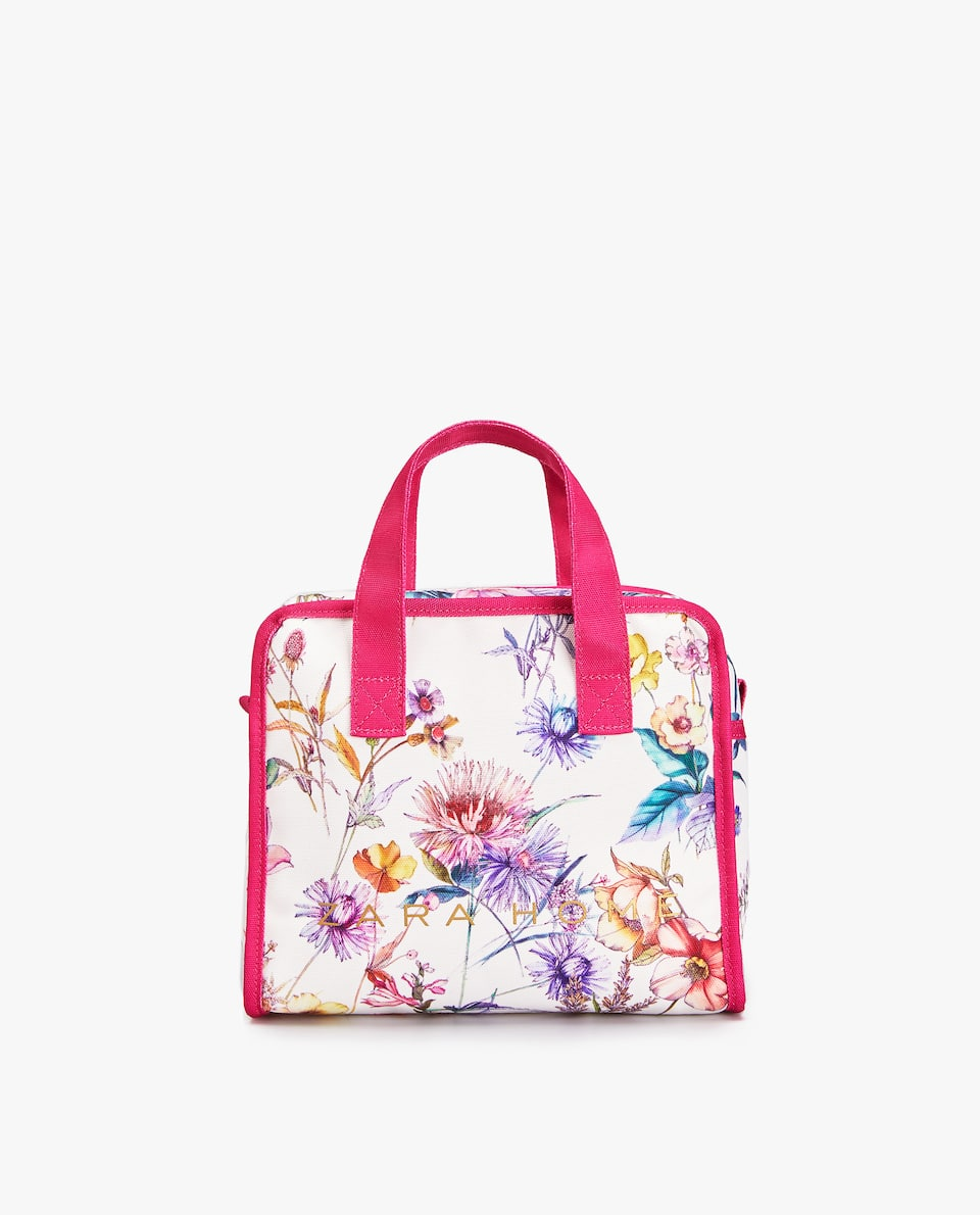 JAPAN EXCLUSIVE COLLECTION 日本限定 FLORAL PRINT MINI TOTE BAG