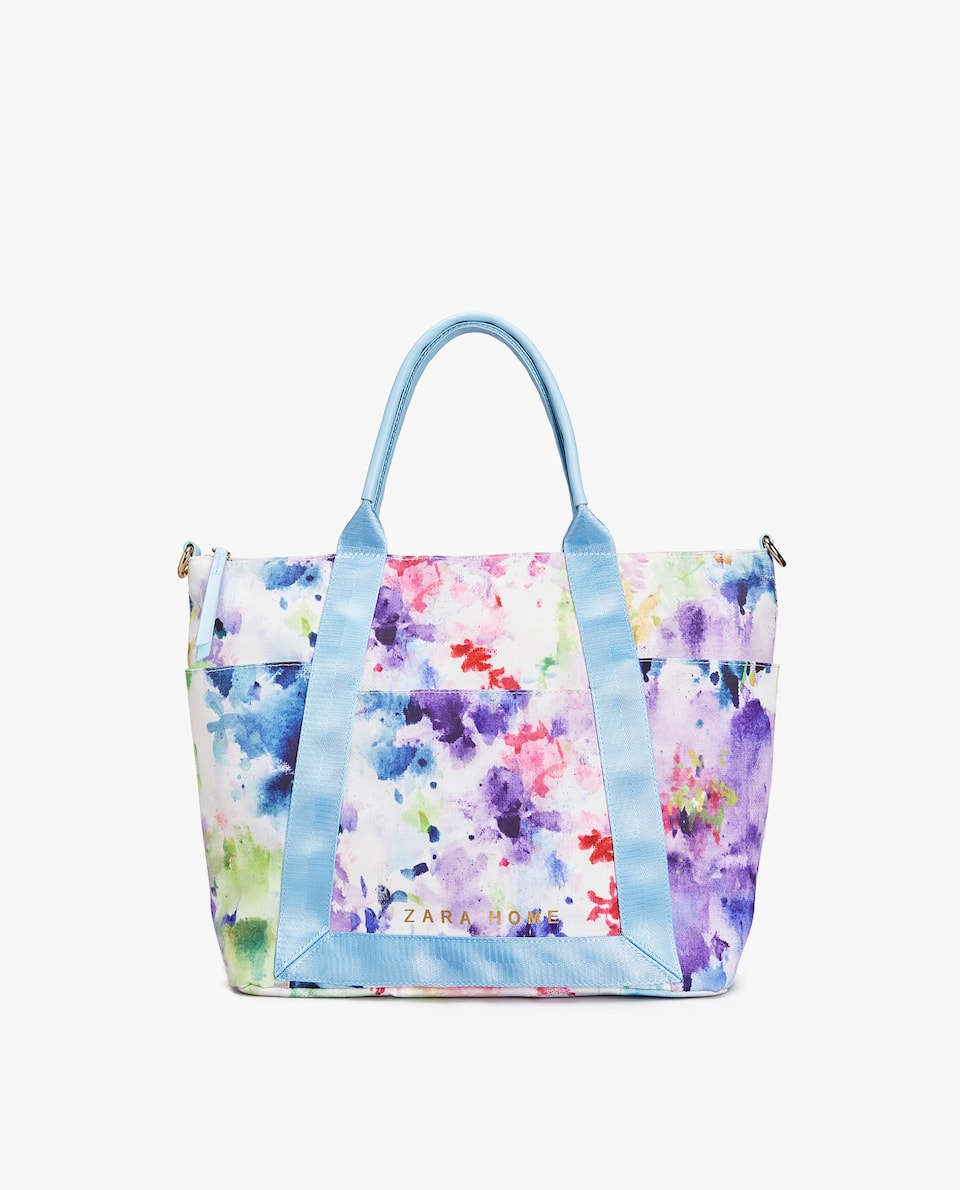JAPAN EXCLUSIVE COLLECTION 日本限定 WATERCOLOR PRINT TOTE BAG