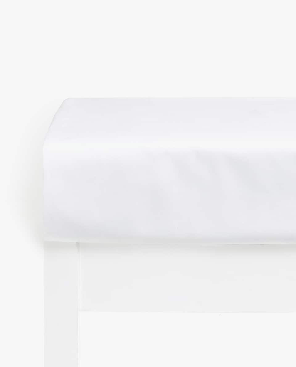 COTTON FITTED SHEET (MATTRESSES OF UP TO 28 CM HIGH)