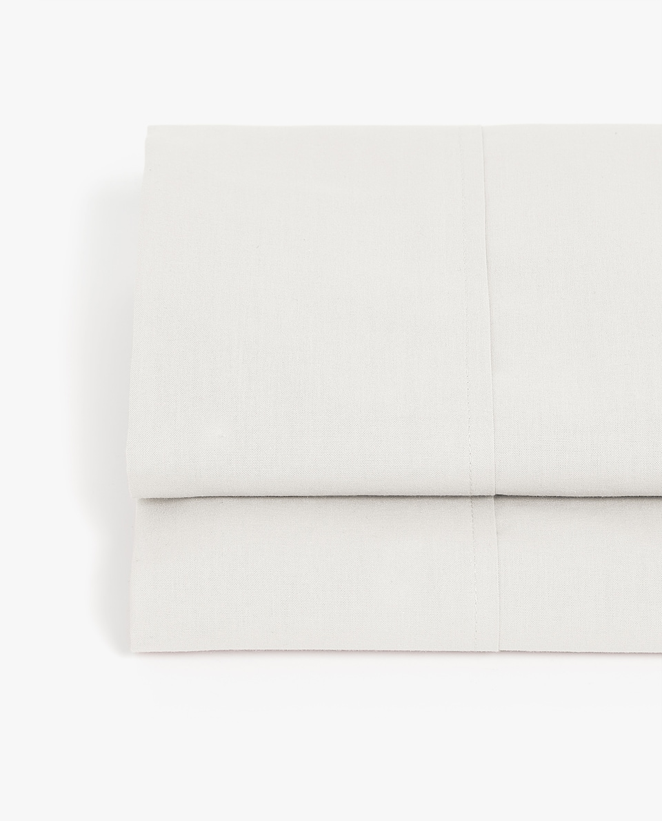 COTTON PERCALE FLAT SHEET