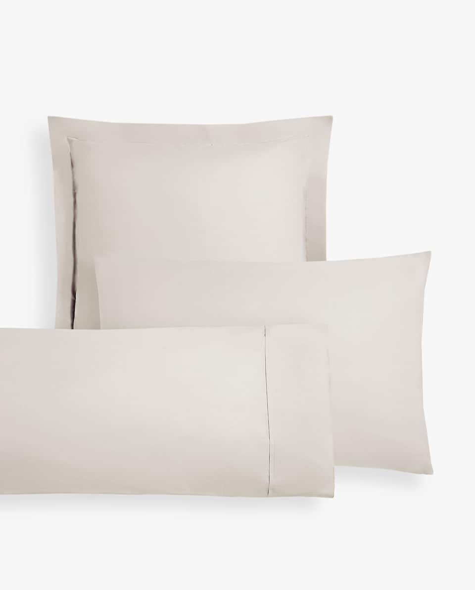 COTTON PERCALE PILLOWCASE
