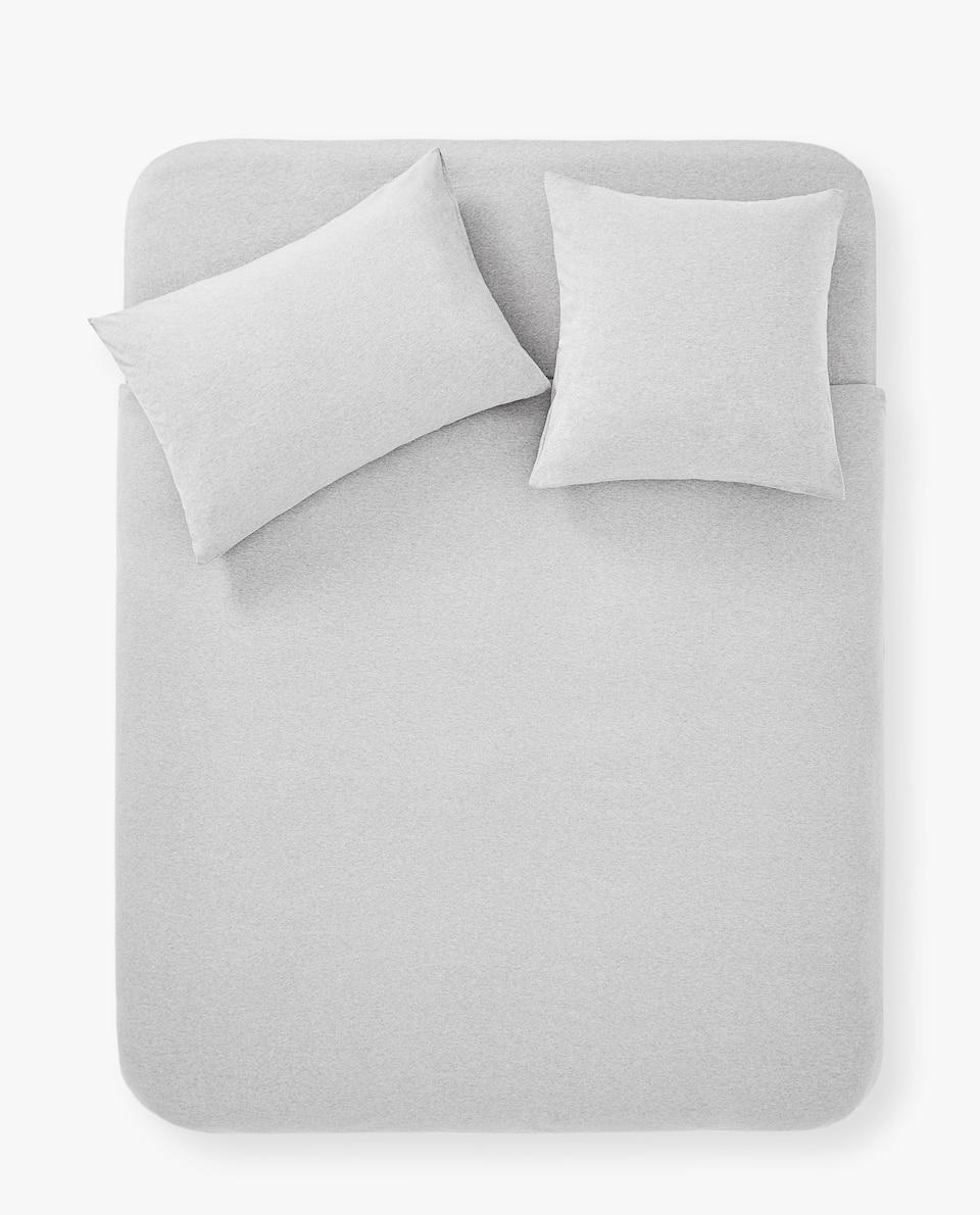 COTTON JERSEY DUVET COVER