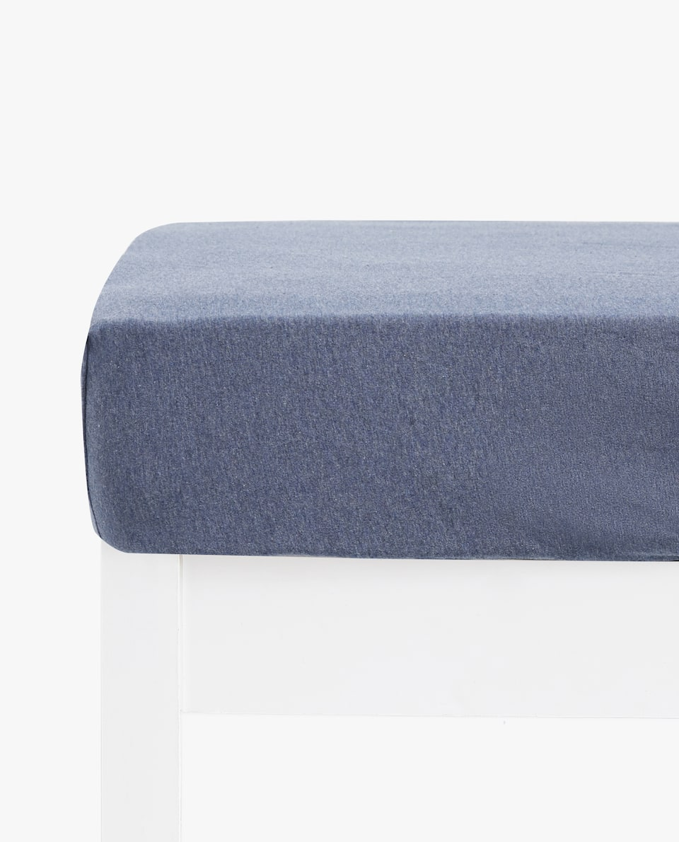 COTTON JERSEY FITTED SHEET (MATTRESSES OF UP TO 30 CM HIGH)
