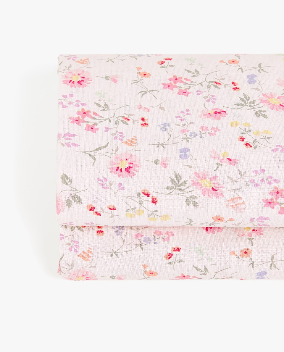 LITTLE FLOWER PRINT FLAT SHEET