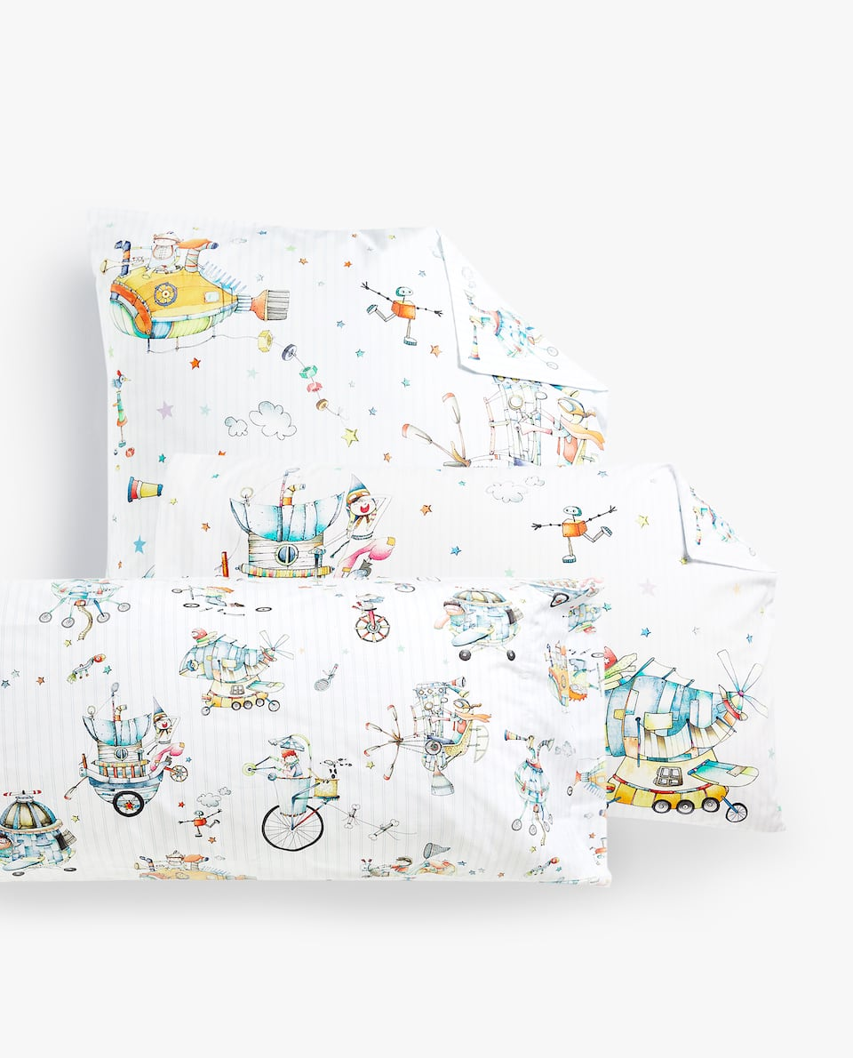 COMBINED INVENTORS PRINT PILLOWCASE