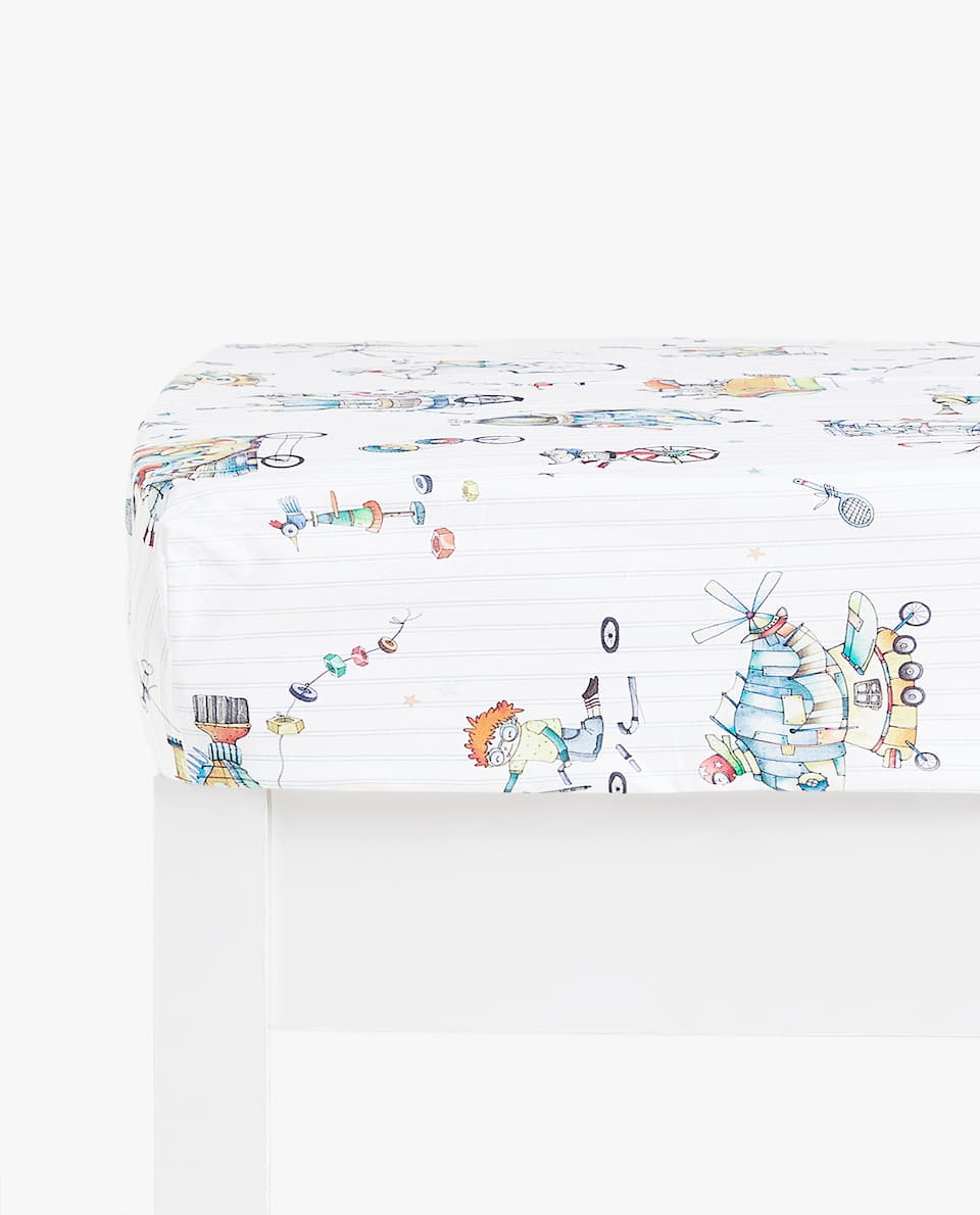 INVENTOR PRINT FITTED SHEET