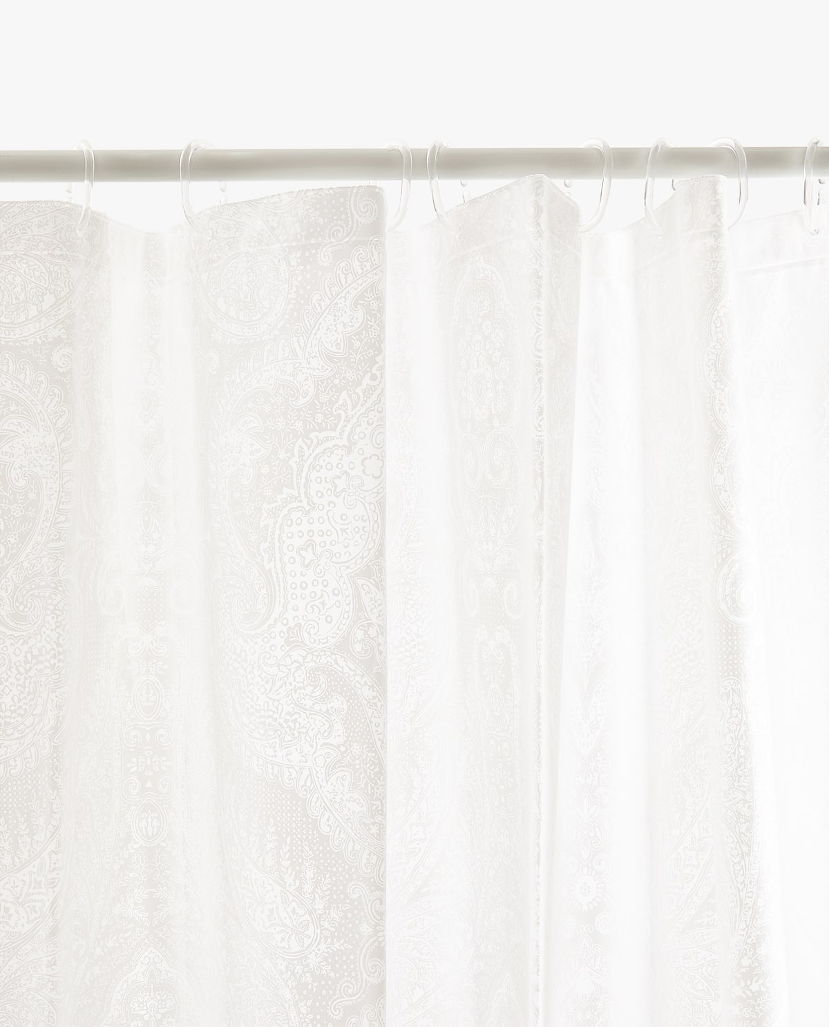 Image Of The Product 3 PAISLEY SHOWER CURTAIN