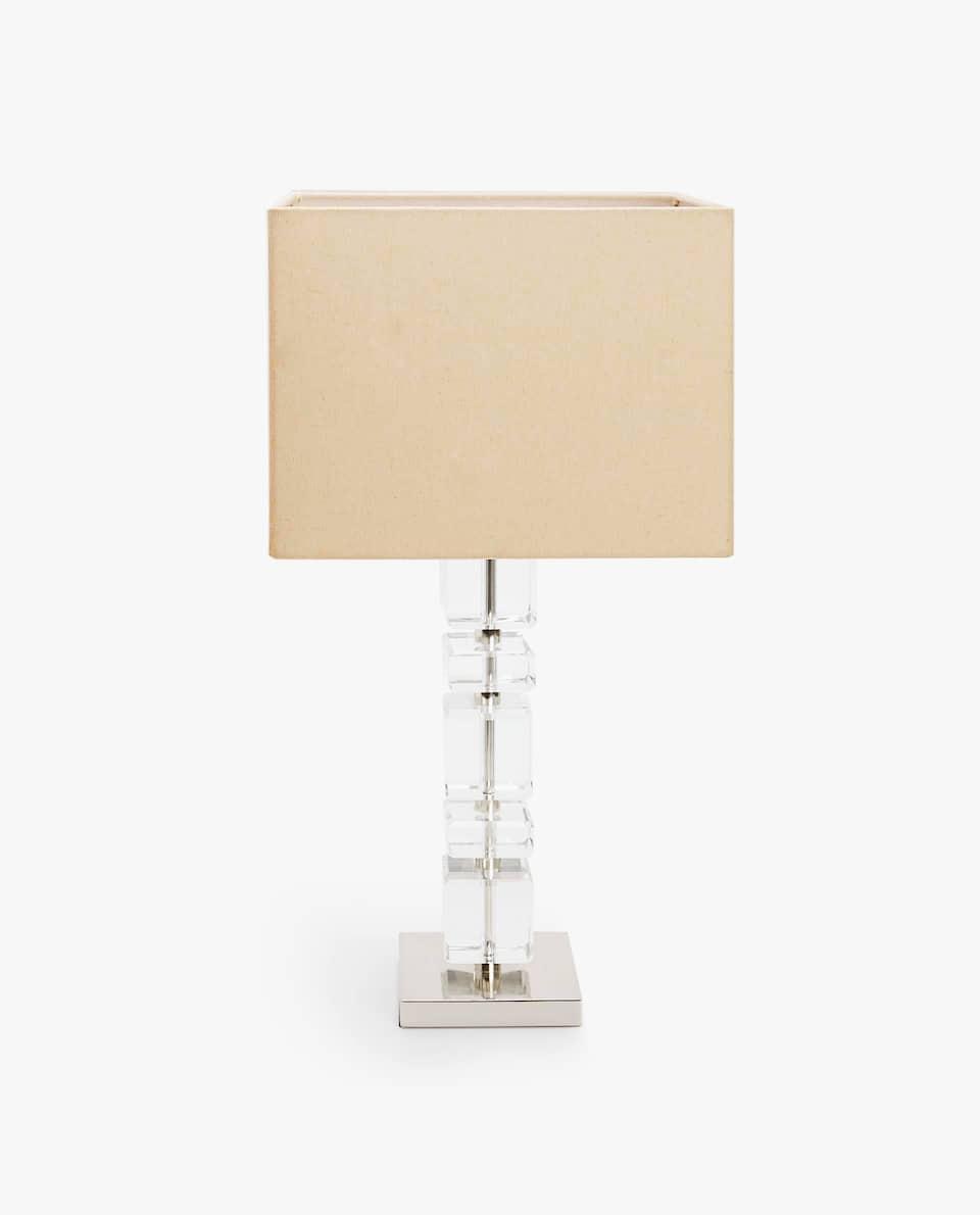 CRYSTAL CUBES LAMP