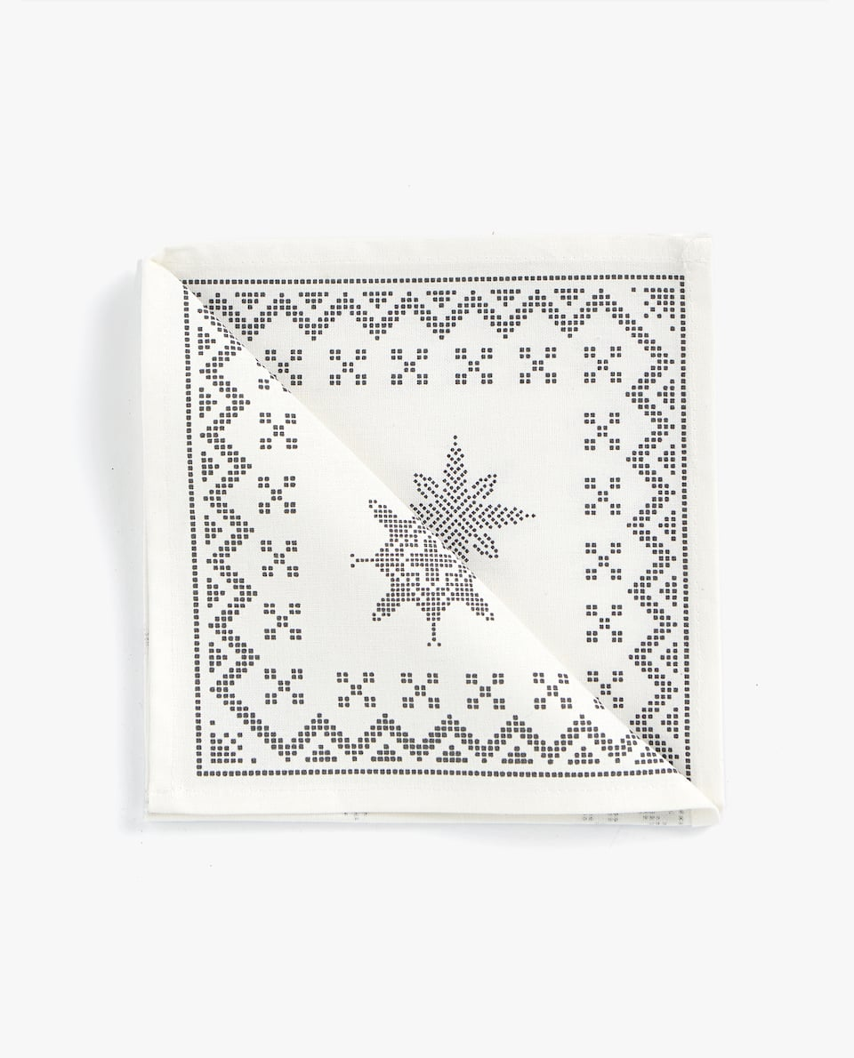 REINDEER NAPKIN (PACK OF 4)