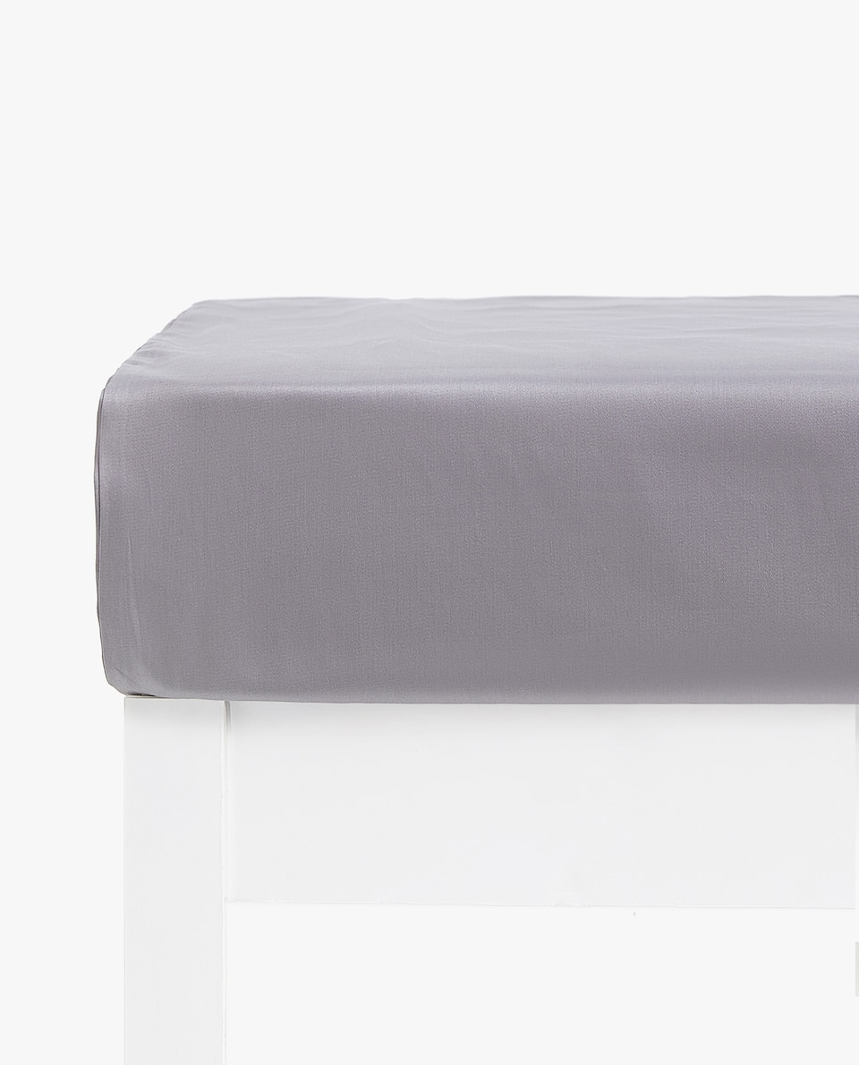 COTTON SATEEN BOTTOM SHEET (UP TO 30 CM HIGH)