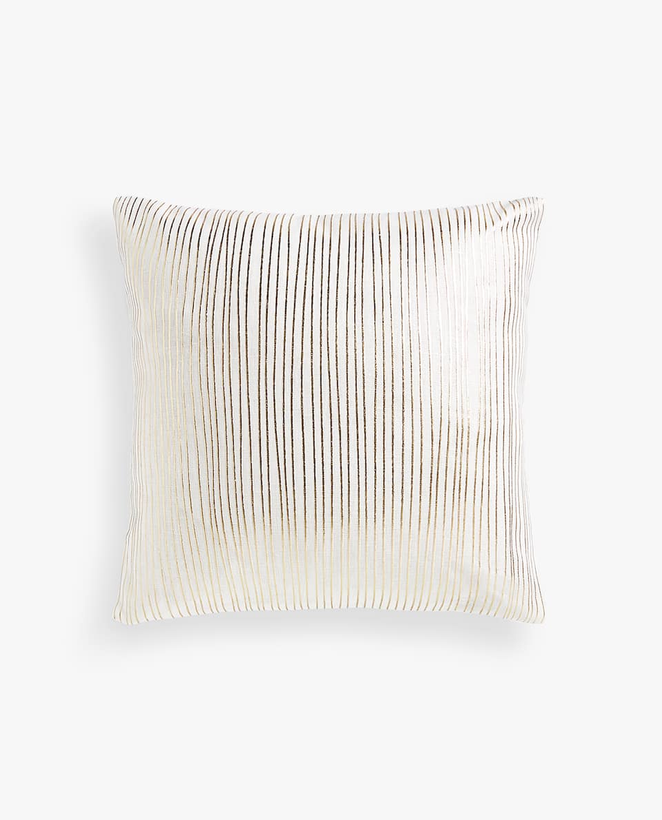 IRREGULAR STRIPES CUSHION COVER