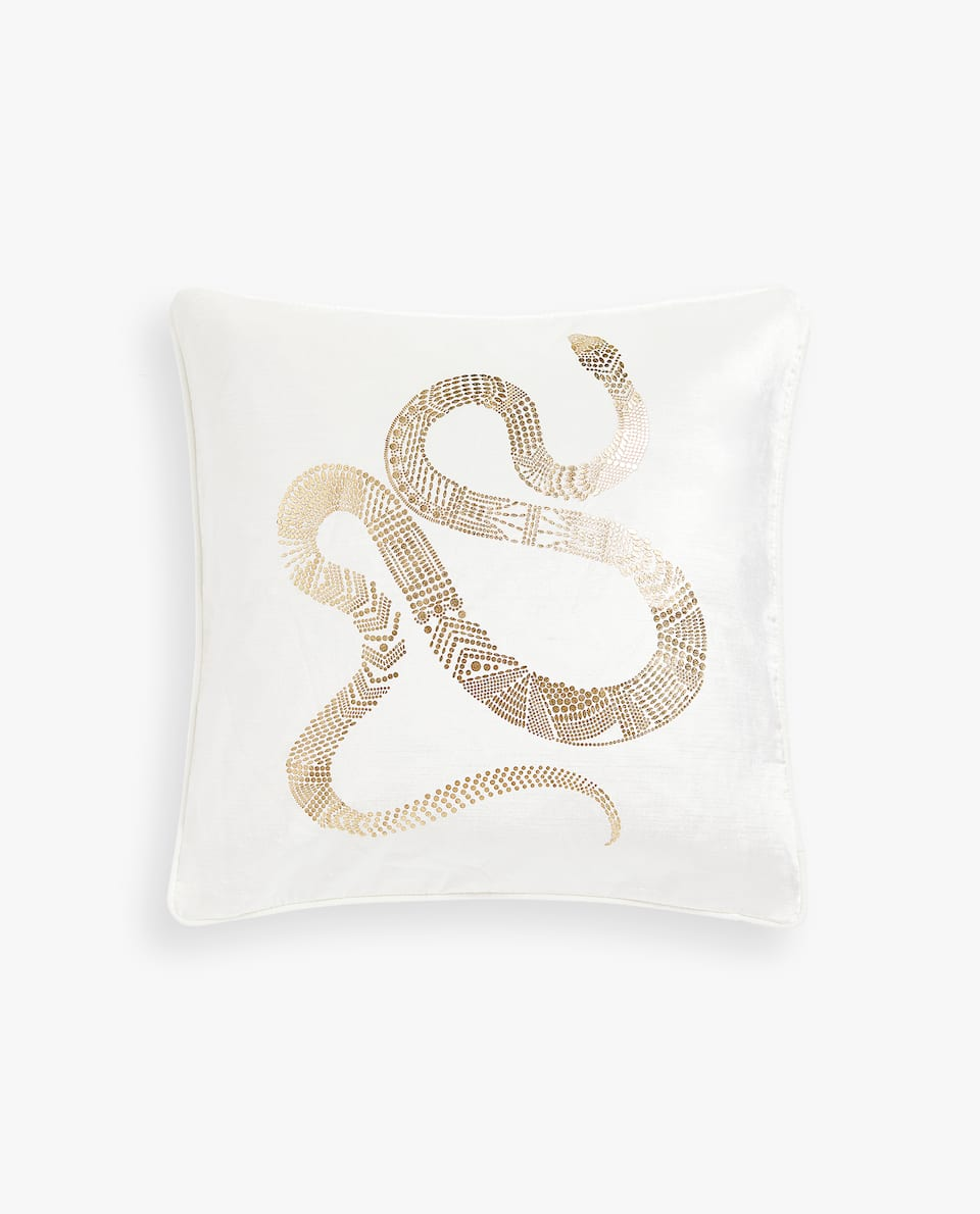 SNAKE CUSHION COVER