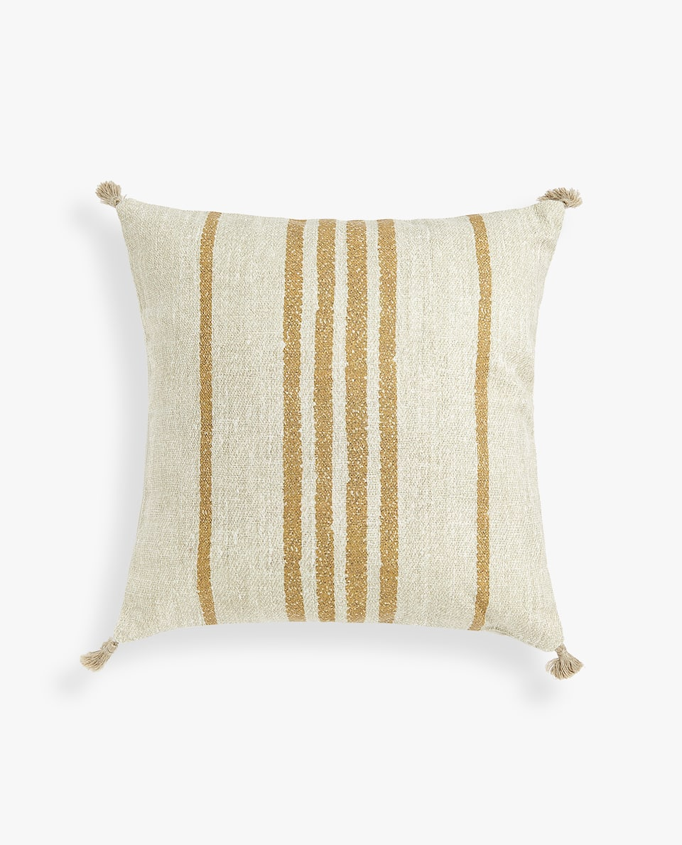 Striped Throw Pillow Cover by Zara Home