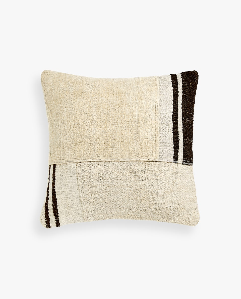 POUCH-STYLE CUSHION COVER