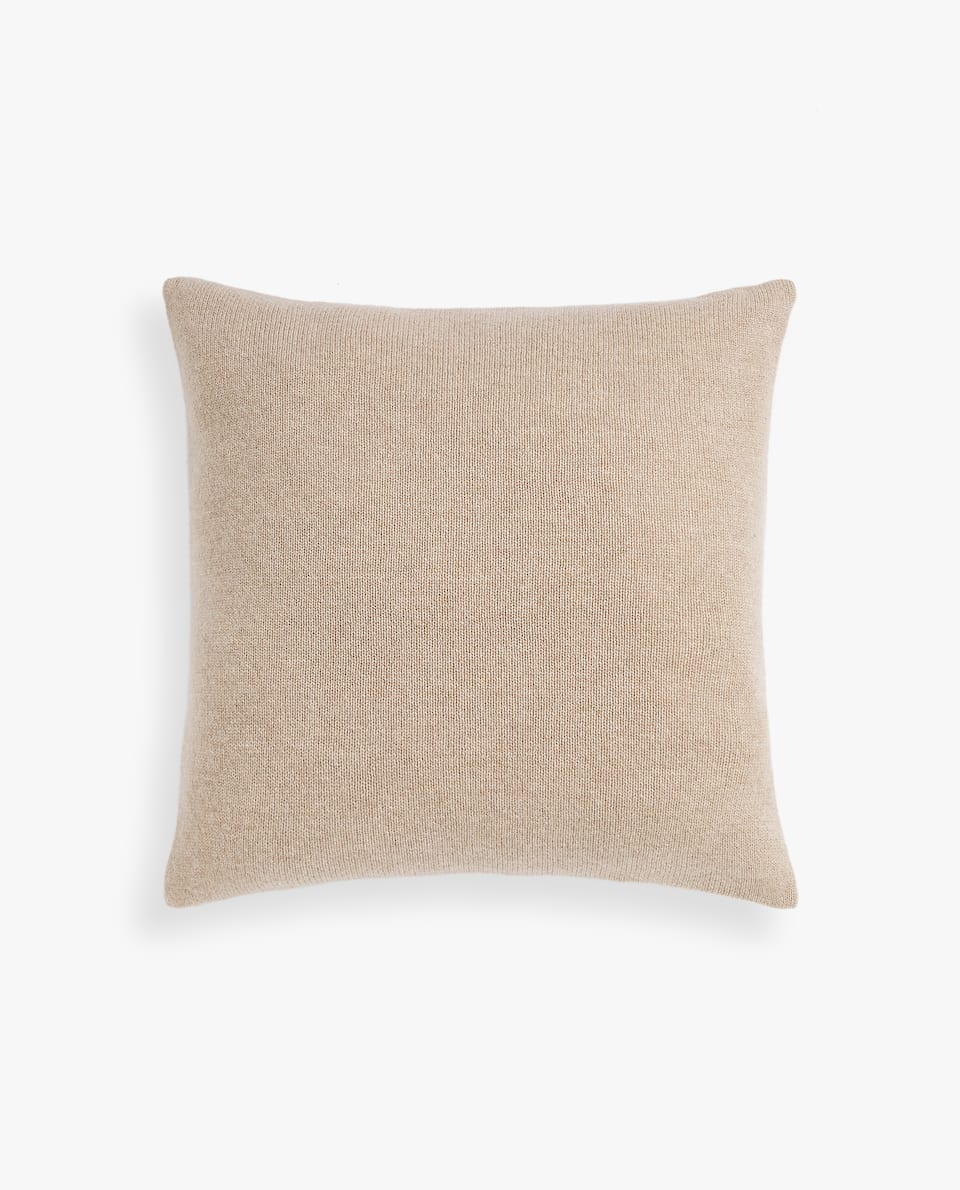 CASHMERE CUSHION COVER