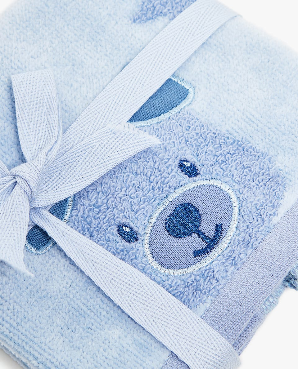 TEDDY BEAR TOWEL (SET OF 3)