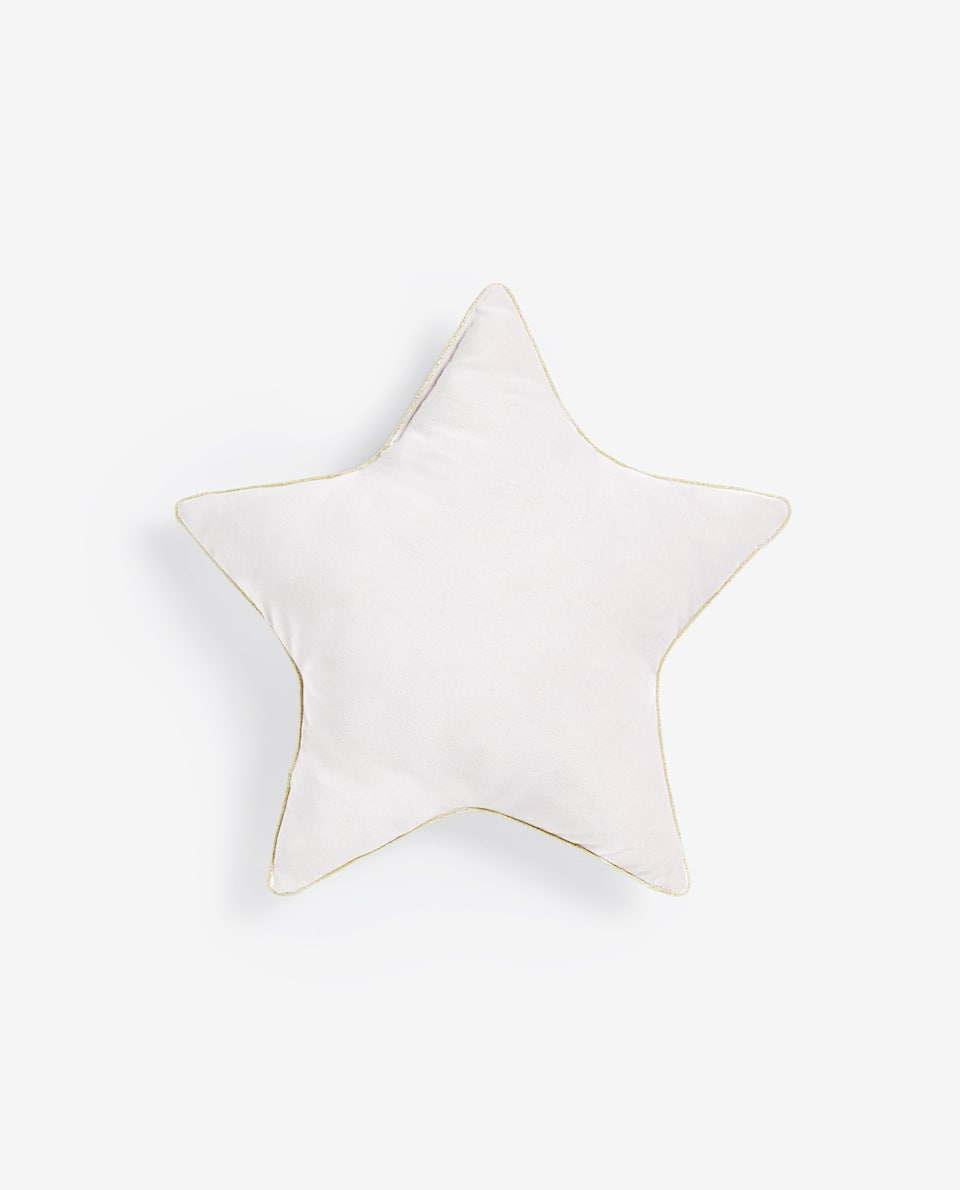 REVERSIBLE STAR CUSHION